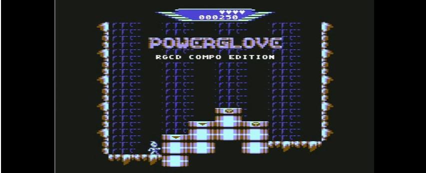 Powerglove - Banner - C64