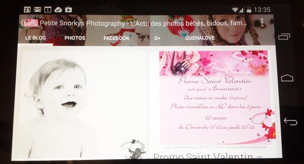Petite Snorkys Photography dans Google Kiosque
