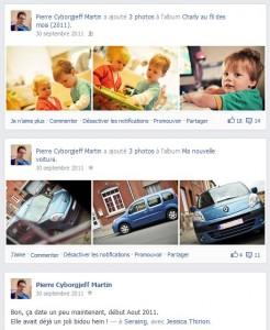 Facebook - Septembre 2011