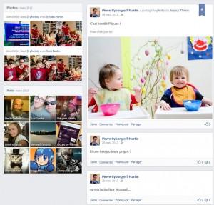 Facebook - Mars 2013 - Pâques