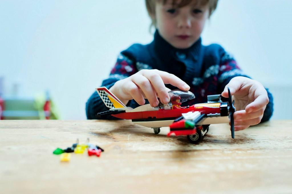 La première boite de LEGO de Charly