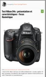 100% e-Media : Nikon D4s et D800.