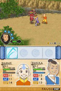 Avatar : Le royaume de la Terre du Feu - DS (THQ - Tose, 2007)