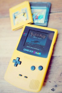 Pokemon sur ma 2° GameBoy Color