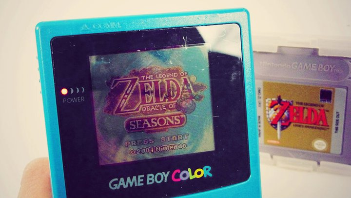 Ma première GameBoy Color et Oracle of Seasons