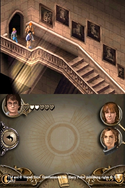 Harry Potter et la coupe de feu - DS (Electronic Arts - Magic Pockets, 2005)
