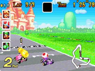 Mario Kart Super Circuit (GBA)