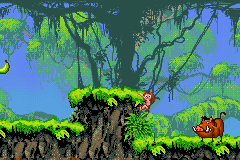 Tarzan - Return to the Jungle (GBA)