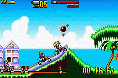 Motocross Maniacs Advance - GBA