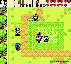 Legend of Zelda : Oracle of Seasons (GBC)
