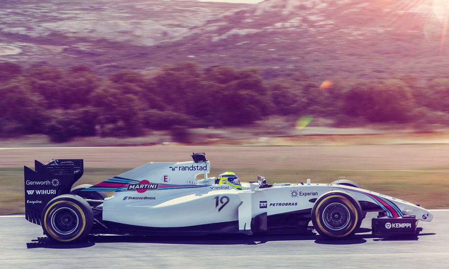 Williams Mercedes - Martini - 2014
