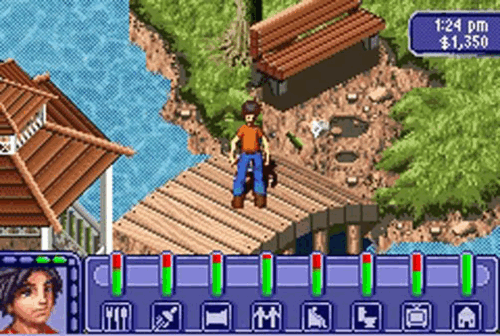 Les Sims : Bustin' out (GBA)