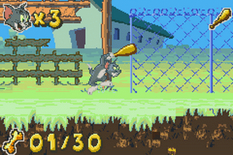 Tom & Jerry in infurnal escape (GBA)