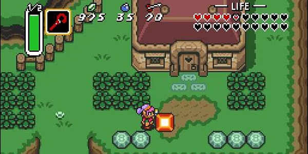 Legend of Zelda : Link to the past (GBA)