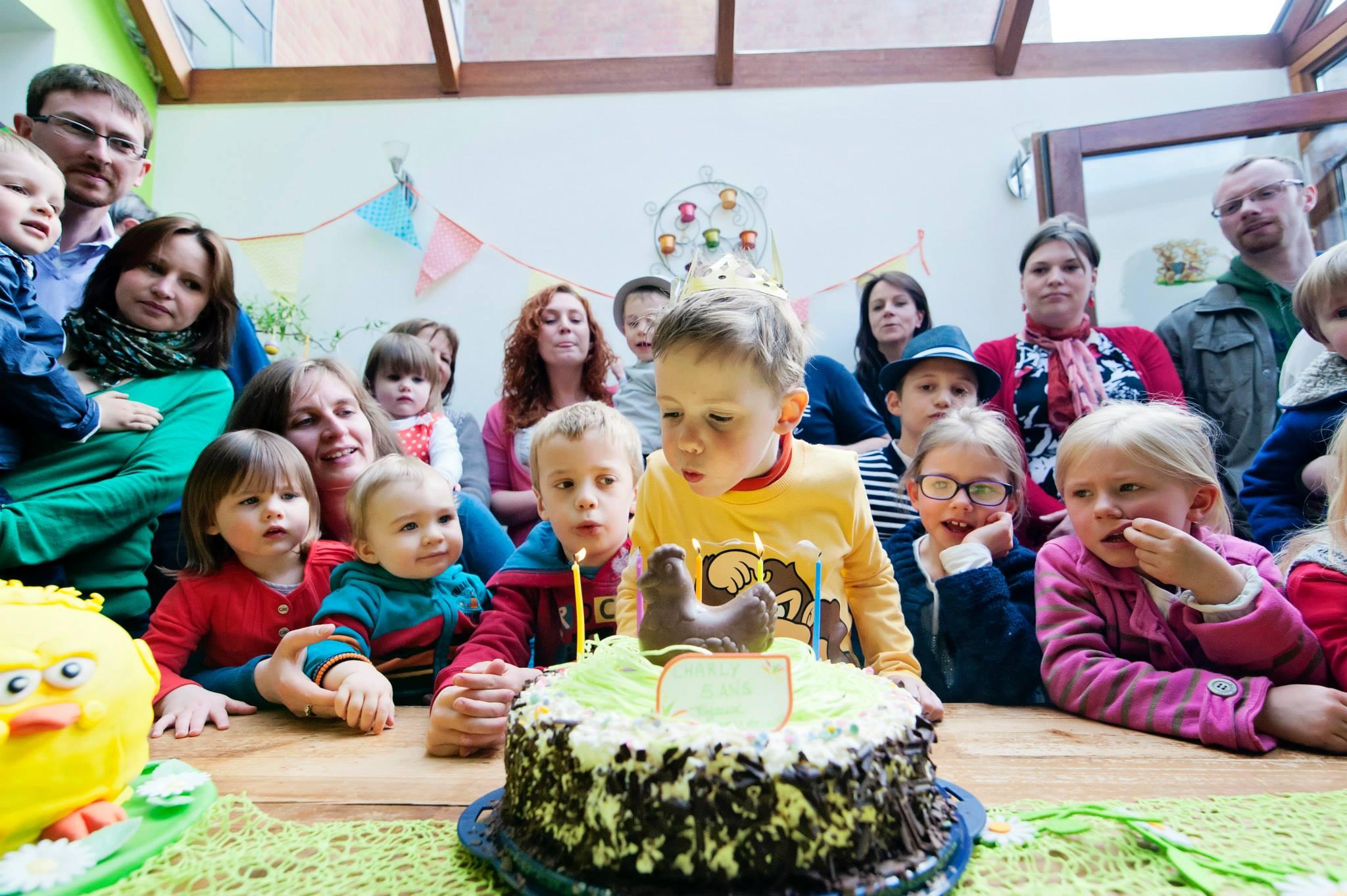 Joyeux Anniversaire mon grand garçon de 5 ans !
