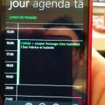 Google Calendar sur Lumia 620