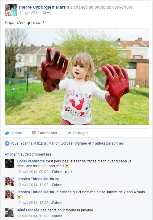 Facebook - Avril 2014 - Maison