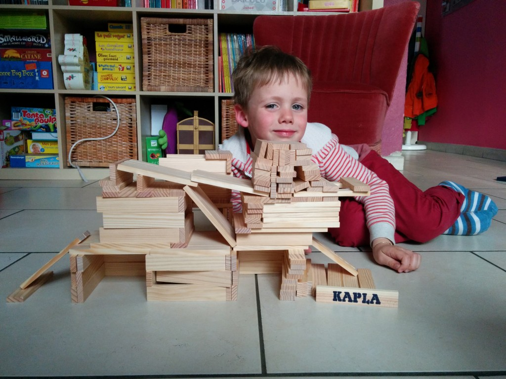 Kapla - Un garage à étages