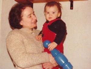 Avec ma mamy des champs - Automne 1978