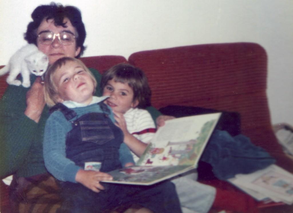 Pierre, Sylvain et Mamy des Champs - 1983