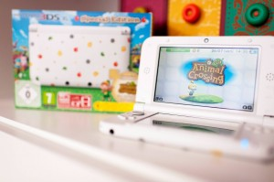 Nintendo 3DS XL - edition Animal Crossing