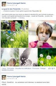 Faceboo - mai 2013