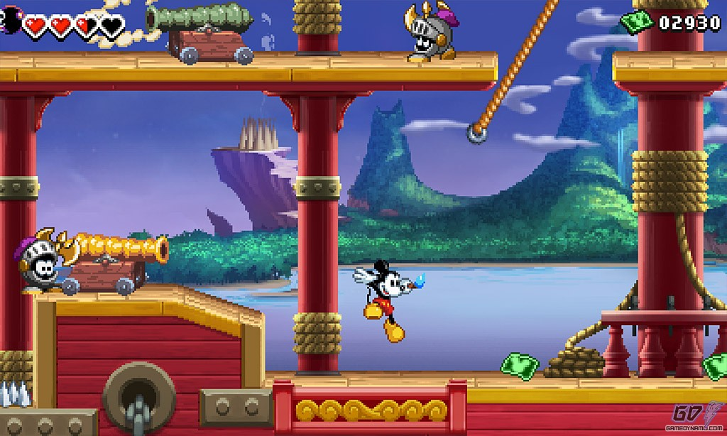 Epic Mickey : Power of illusion (3DS)