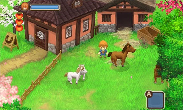Harvest Moon : The tale of two towns (3DS)