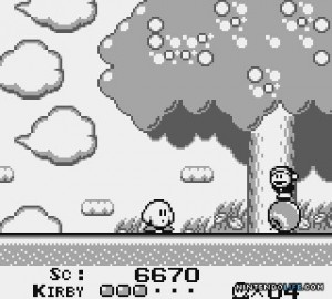 Kirby's dream land - Gameboy (HAL Lab, 1992)