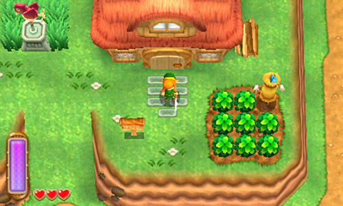 The Legend of Zelda : Link between worlds (3DS)