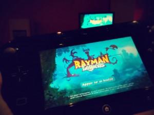 Notre premier hit sur la WiiU, Rayman Legends !