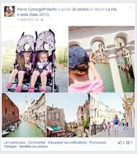 Vacances en Italie - Facebook 2013