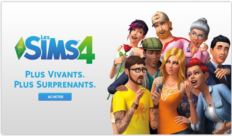 Les Sims 4 - Plus vivants, plus surprenants