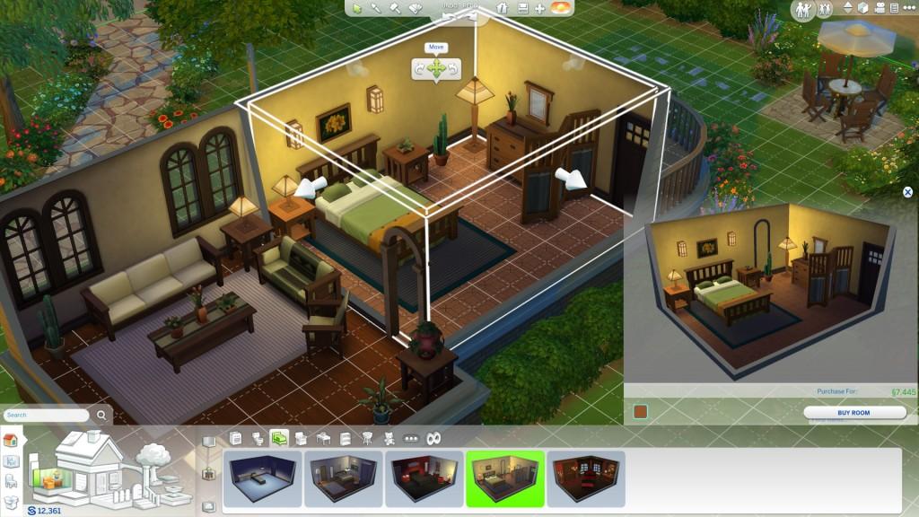Les Sims 4 - le mode construction