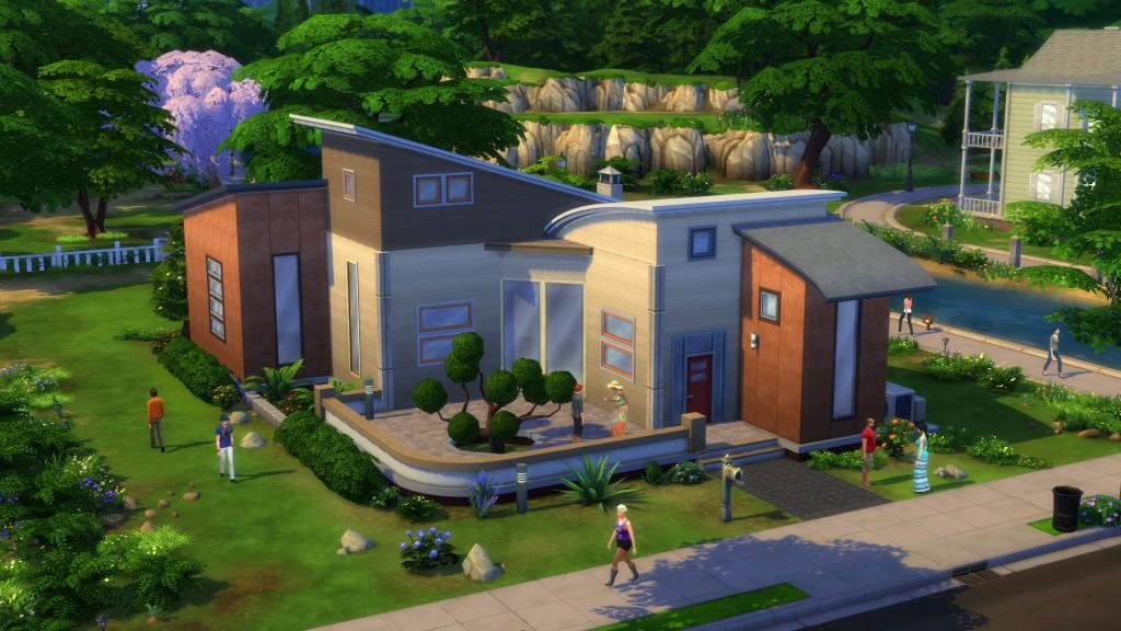 Les Sims 4 - Maison design