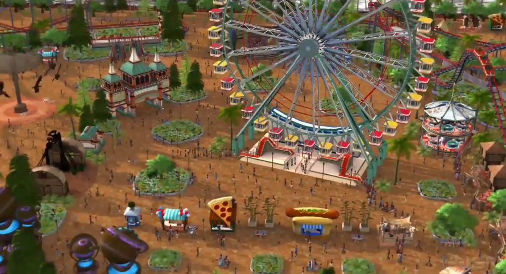 Roller Coaster Tycoon World