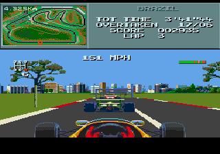 Formula One - Megadrive (Donmark - Lankhor, 1993)