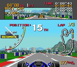 Ayrton Senna's Super Monaco GP II - MD (SEGA, 1992)