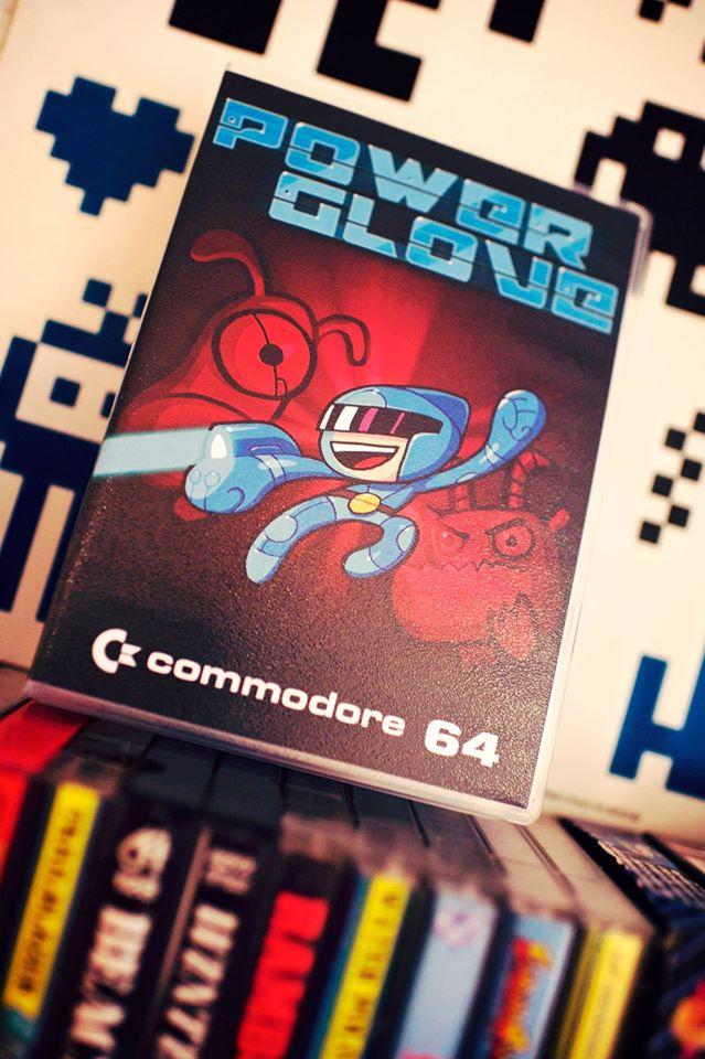 C64 - Powerglove - Cartouche