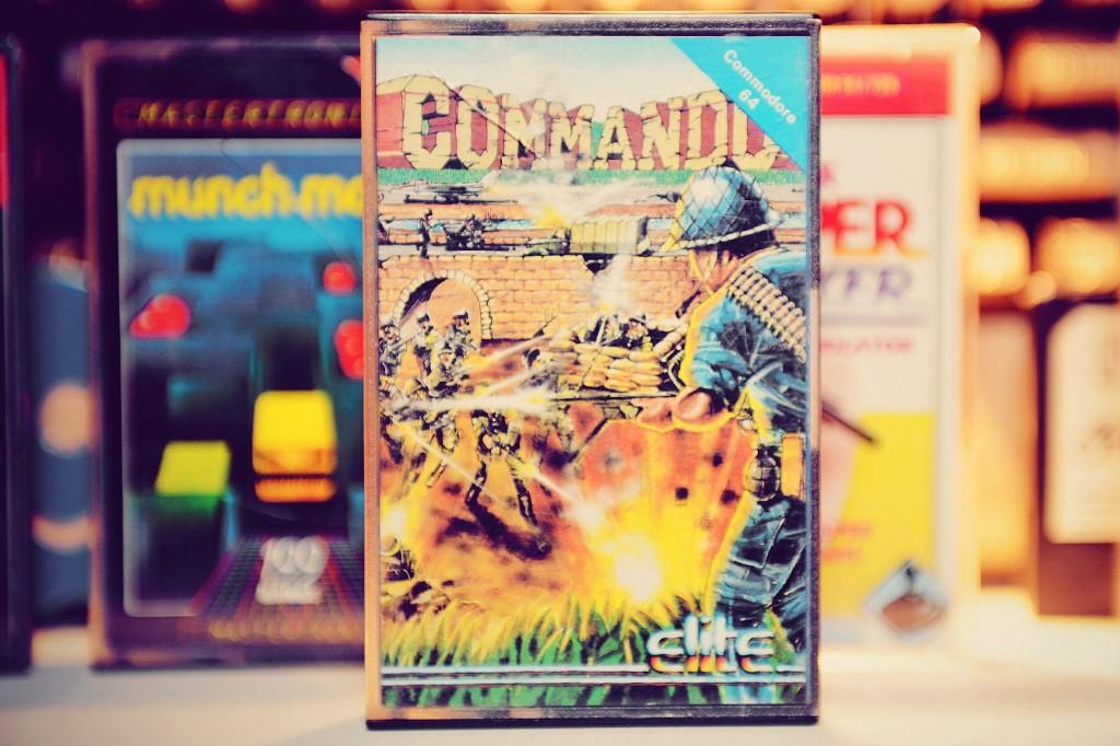 C64 - Commando - K7