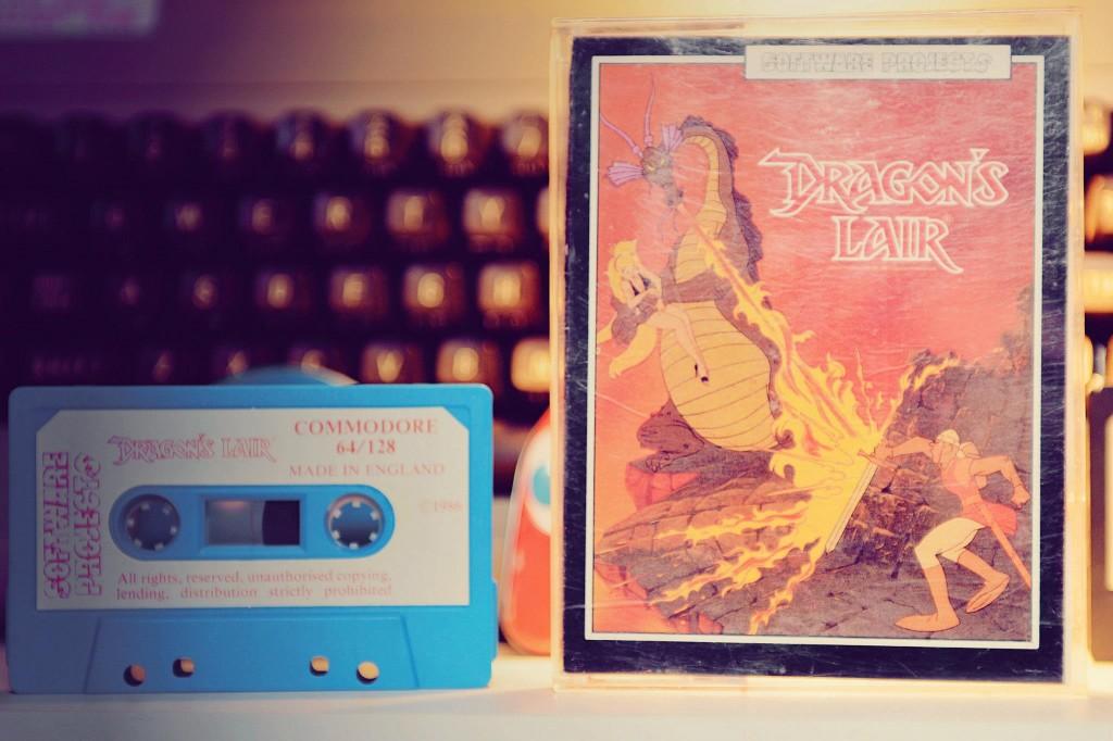 C64 - Dragon's Lair - K7