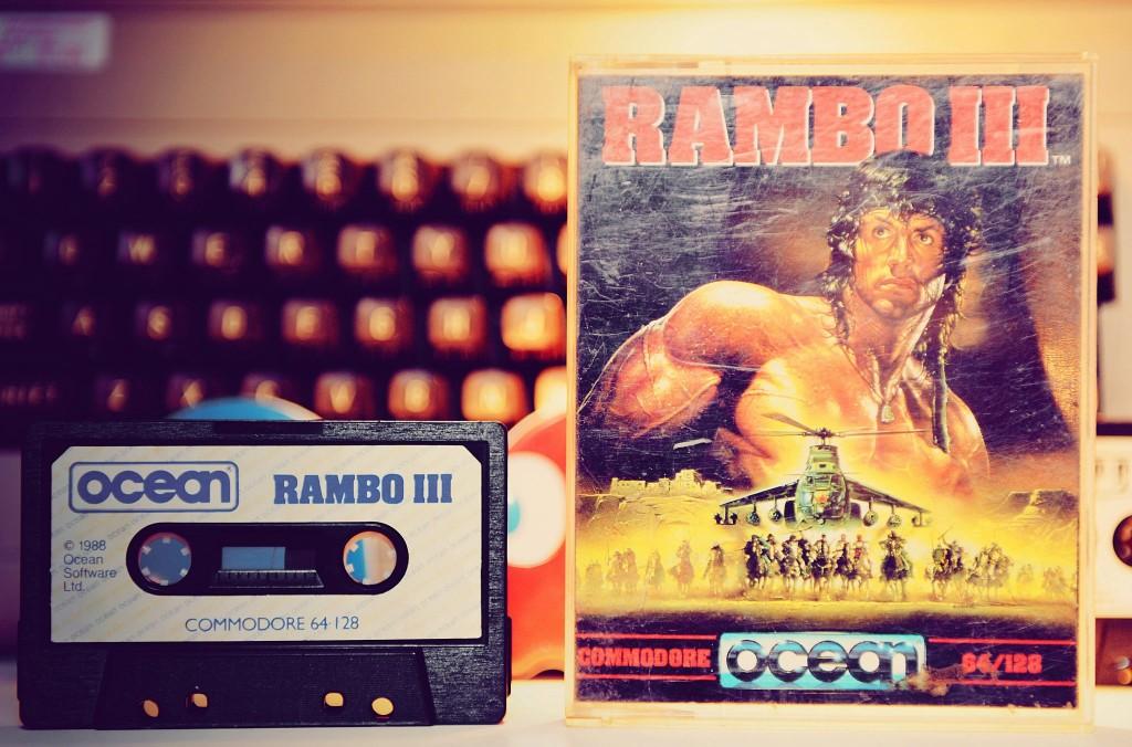 C64 - Rambo III - K7