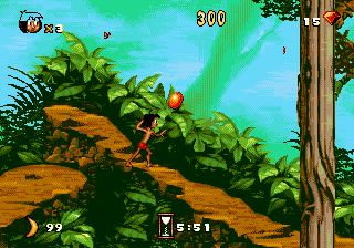 Le Livre de la Jungle - MD (Virgin - Eurocom Dev, 1994)