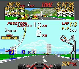 Super Monaco GP - MD (SEGA, 1990)