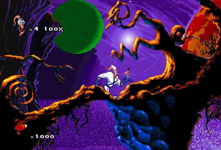 Earthworm Jim 2 - MD (Playmates interactive - Shiny Ent, 1995)