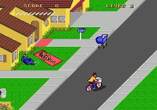 Paperboy II - MD (Tengen, 1992)
