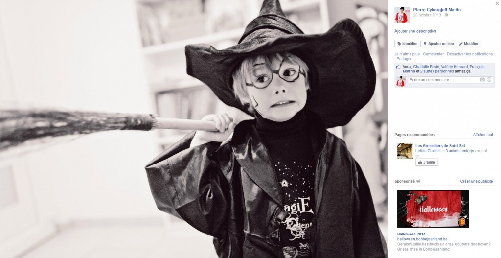 Charly Potter - Facebook octobre 2013 - Halloween - Petite Snorkys Photograpy