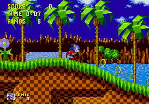 Sonic The Hedgehog - MD (SEGA, 1991)