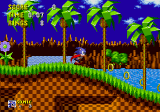 Sonic The Hedgehog (MD)