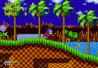 Sonic The Hedgehog - MD (SEGA, 1991)